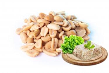 Арахис в глазури GONG cо вкусом холодец/хрен 1 кг