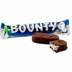Шоколадный батончик Баунти 82г