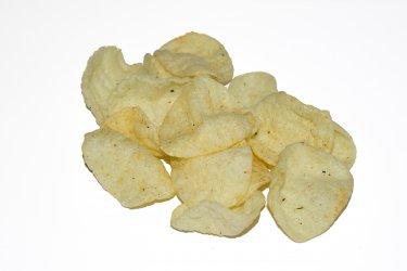 ОВАЛ чипсы сметана/зелень 1,2кг
