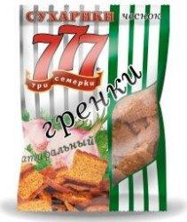 777 Сухарики Сыр 45 г*30