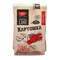 Чипсы  Картошка  томат/укроп ЭКО 150г*8