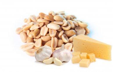 Арахис 100 гр со вкусом Сыр-Чеснок