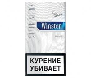 Сигареты Winston SS Blue МРЦ125