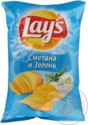 ЛЕЙЗ     150 г Сметана-зелень*18